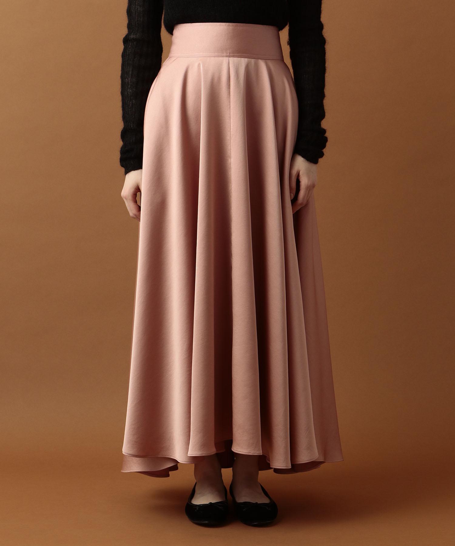 【Sweet 2019年9月号掲載】ワイドベルトフレアミディスカート