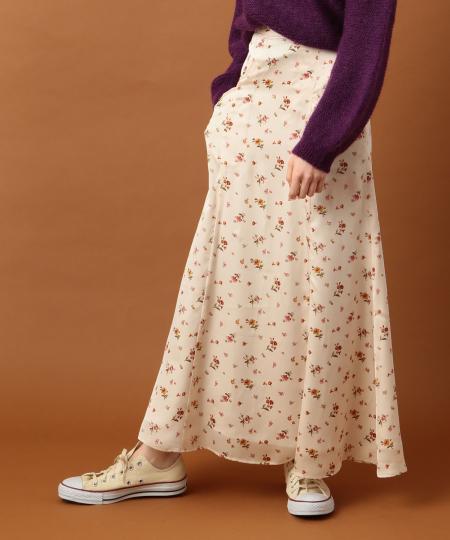 グロッシーフラワースカート