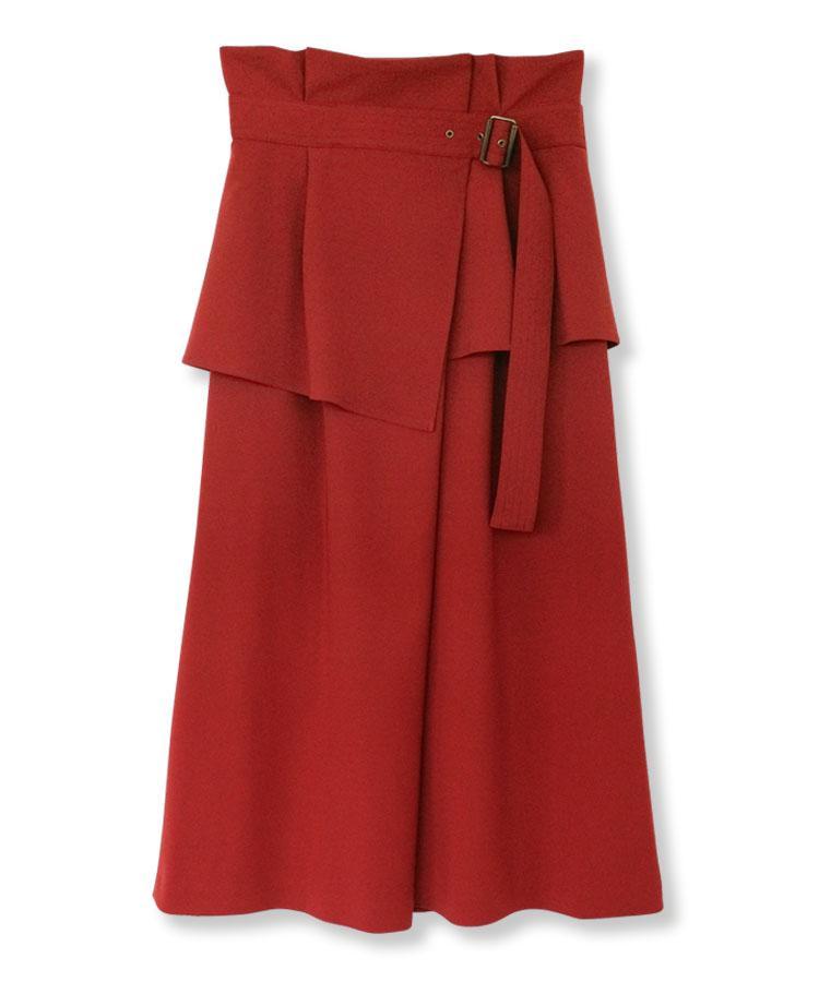 Wrap Belt Skirt