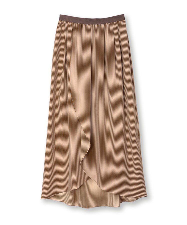 Loose Stripe Skirt