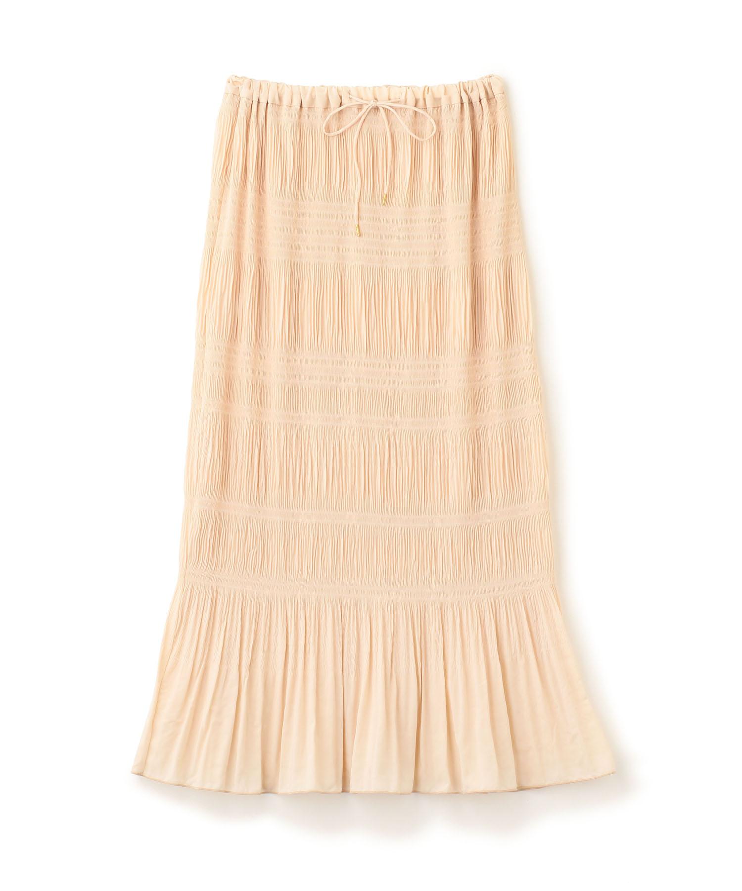 Shirring Pleats Skirt