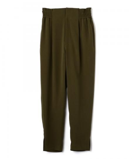 Shirring Tapered Pants