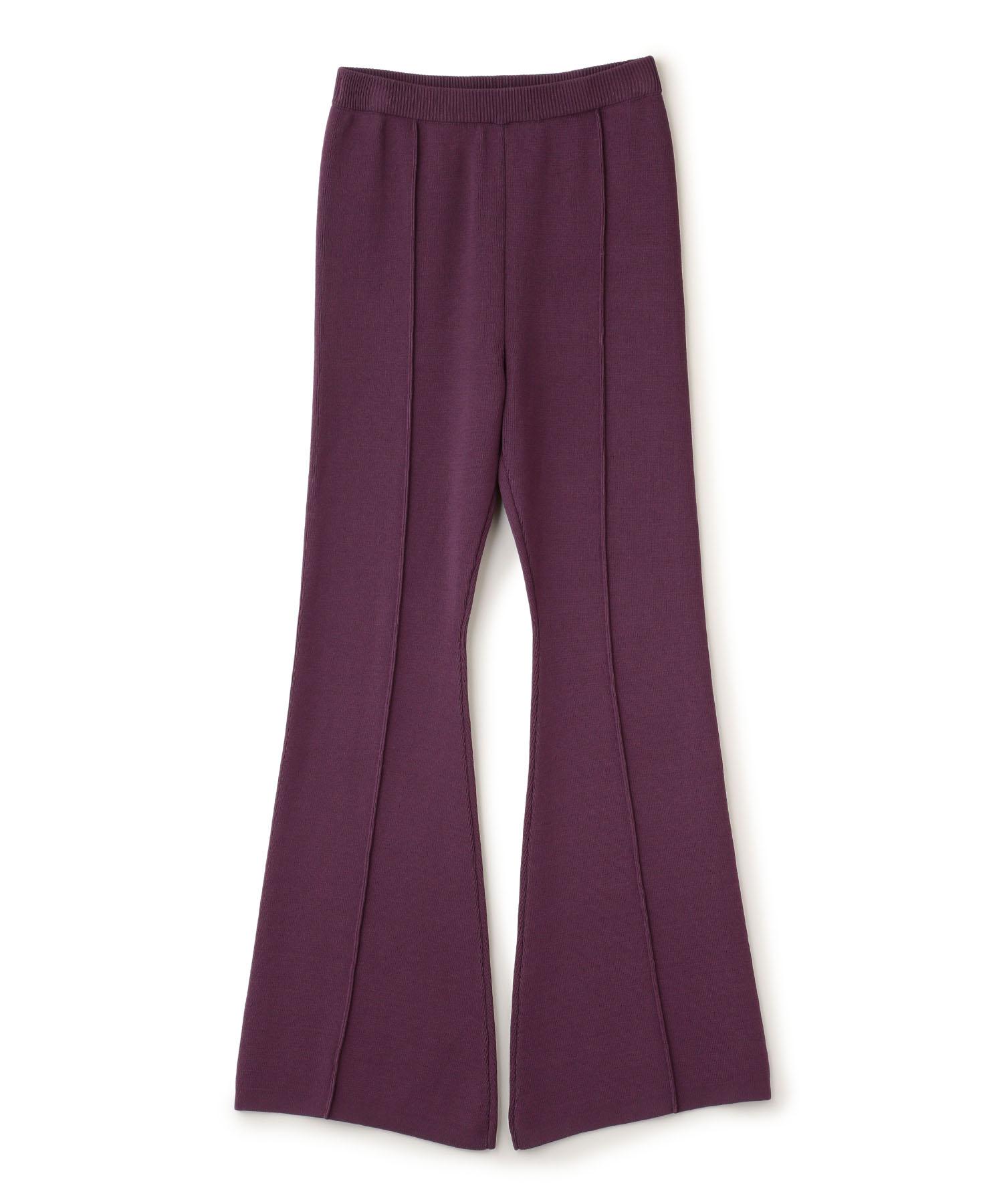 Bell Bottom Knit Pants
