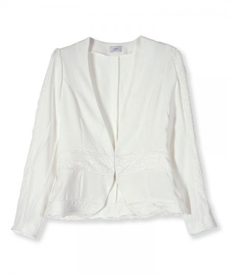 Lace Combination Jacket