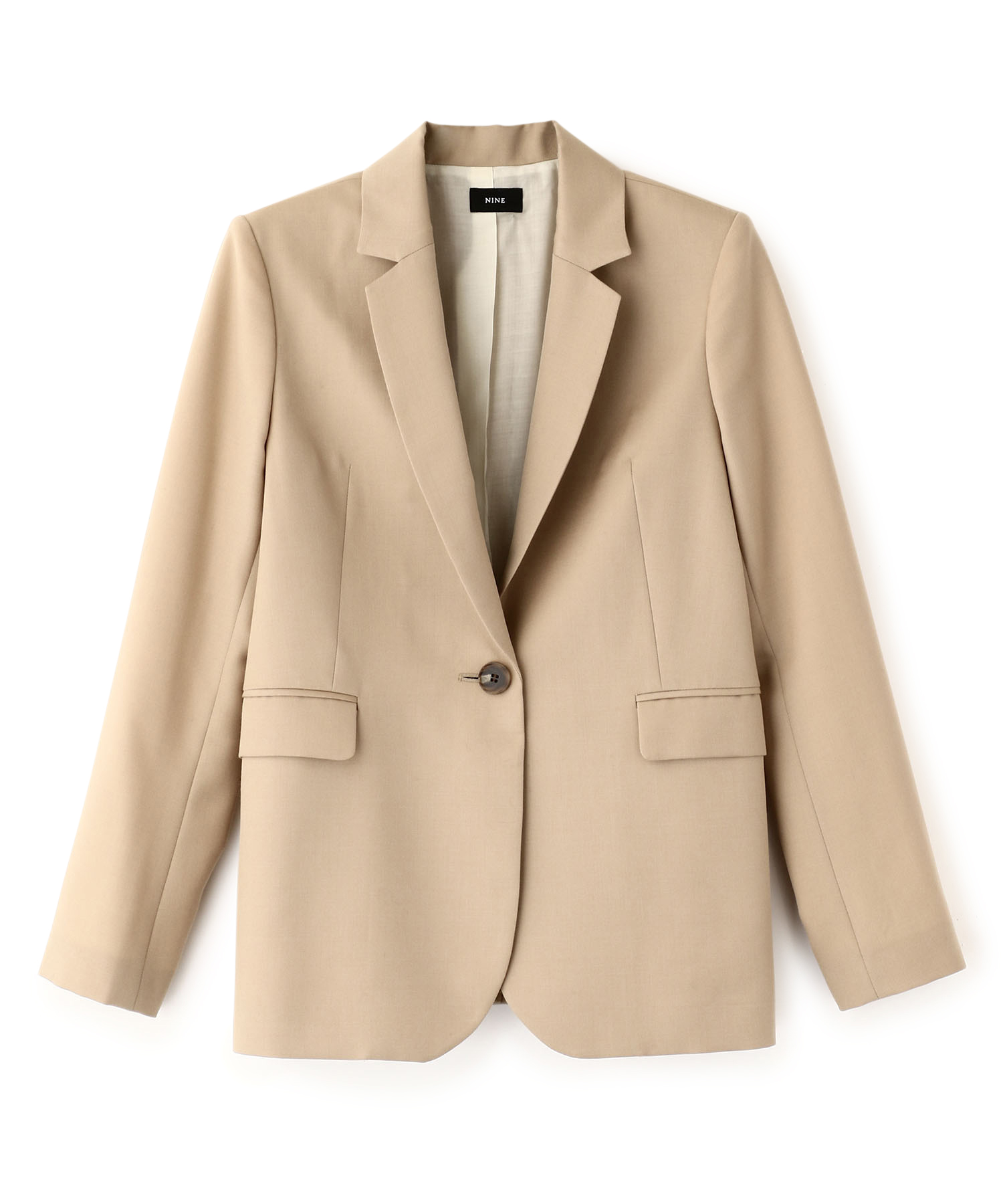 Mohair Mix Tailored Jacket