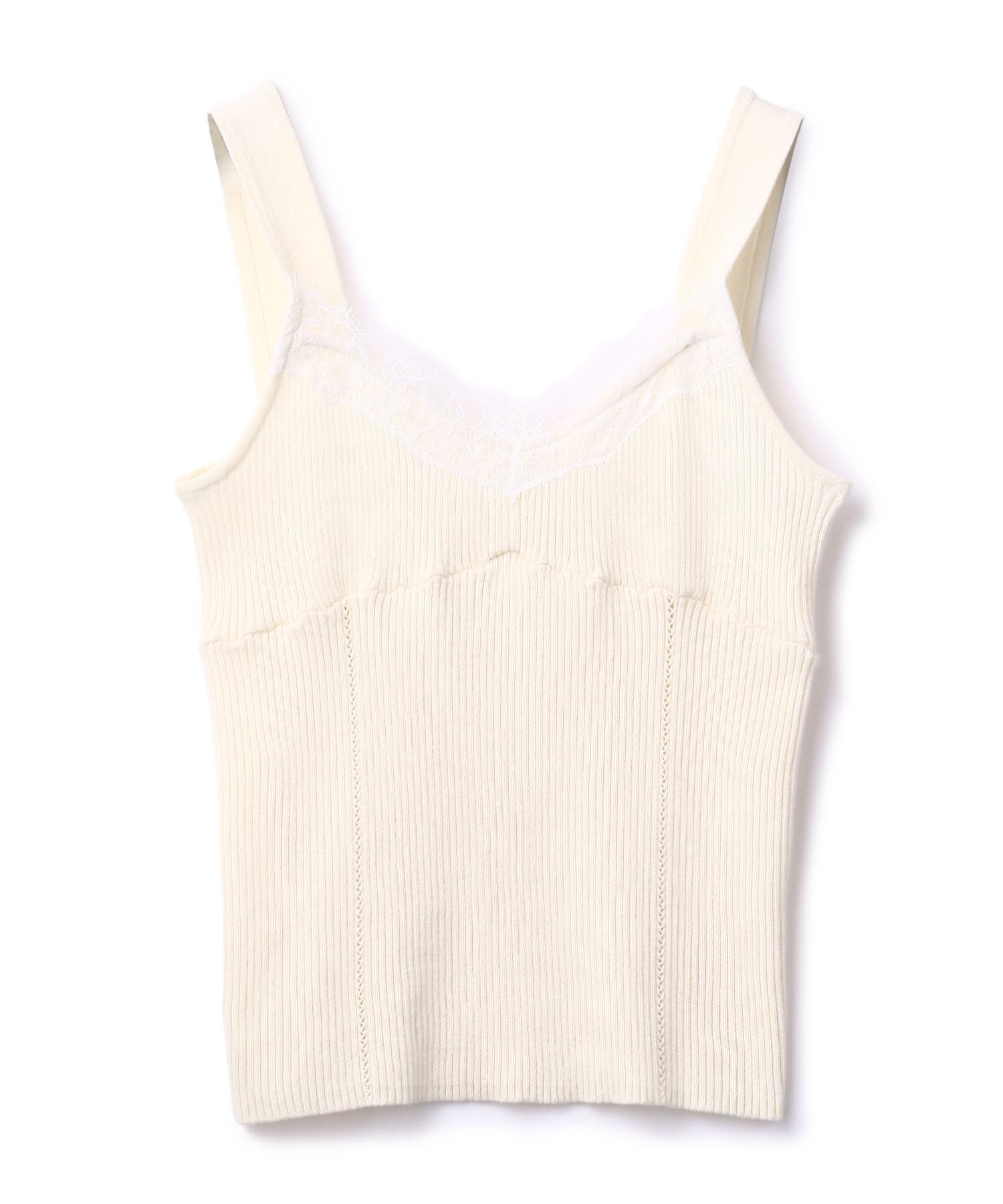 Lace Lib Knit Camisole