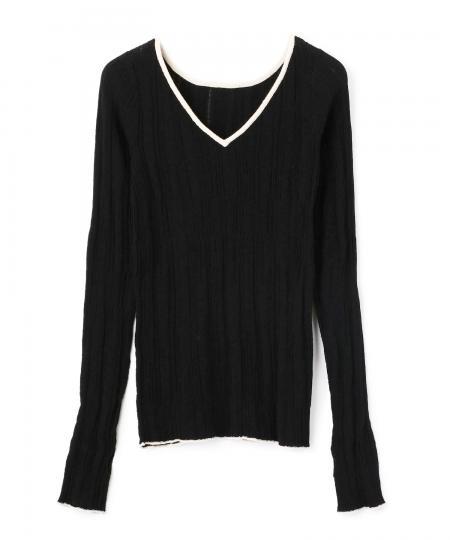 Random Sheer Pullover