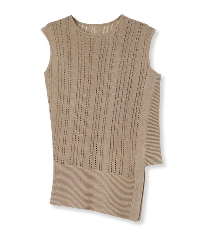 Dry Touch Stripe Knit