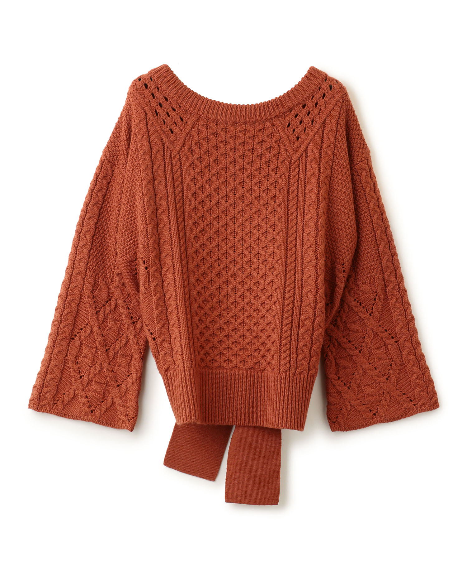 Knot Cable Pullover