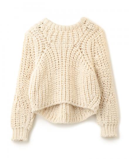 Chunky Hand Knit Pullover