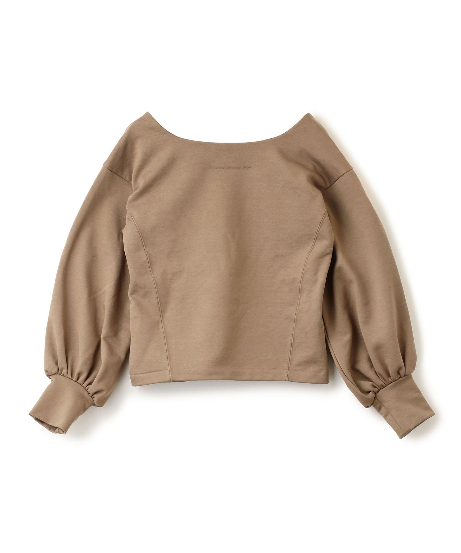 Back V Neck Pullover