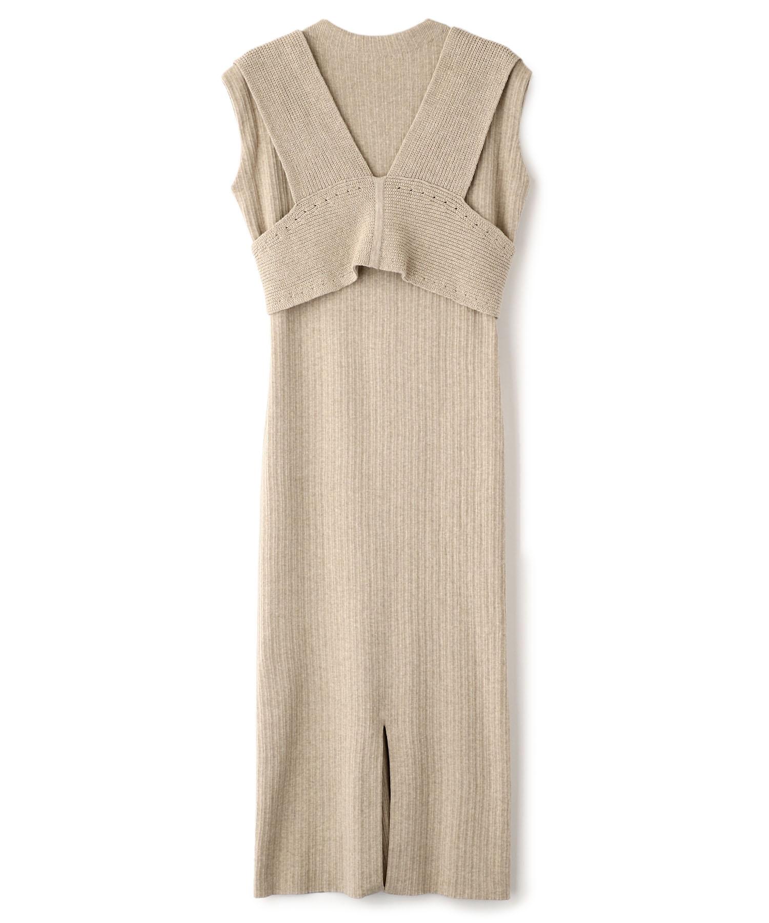 Bustier Knit Dress