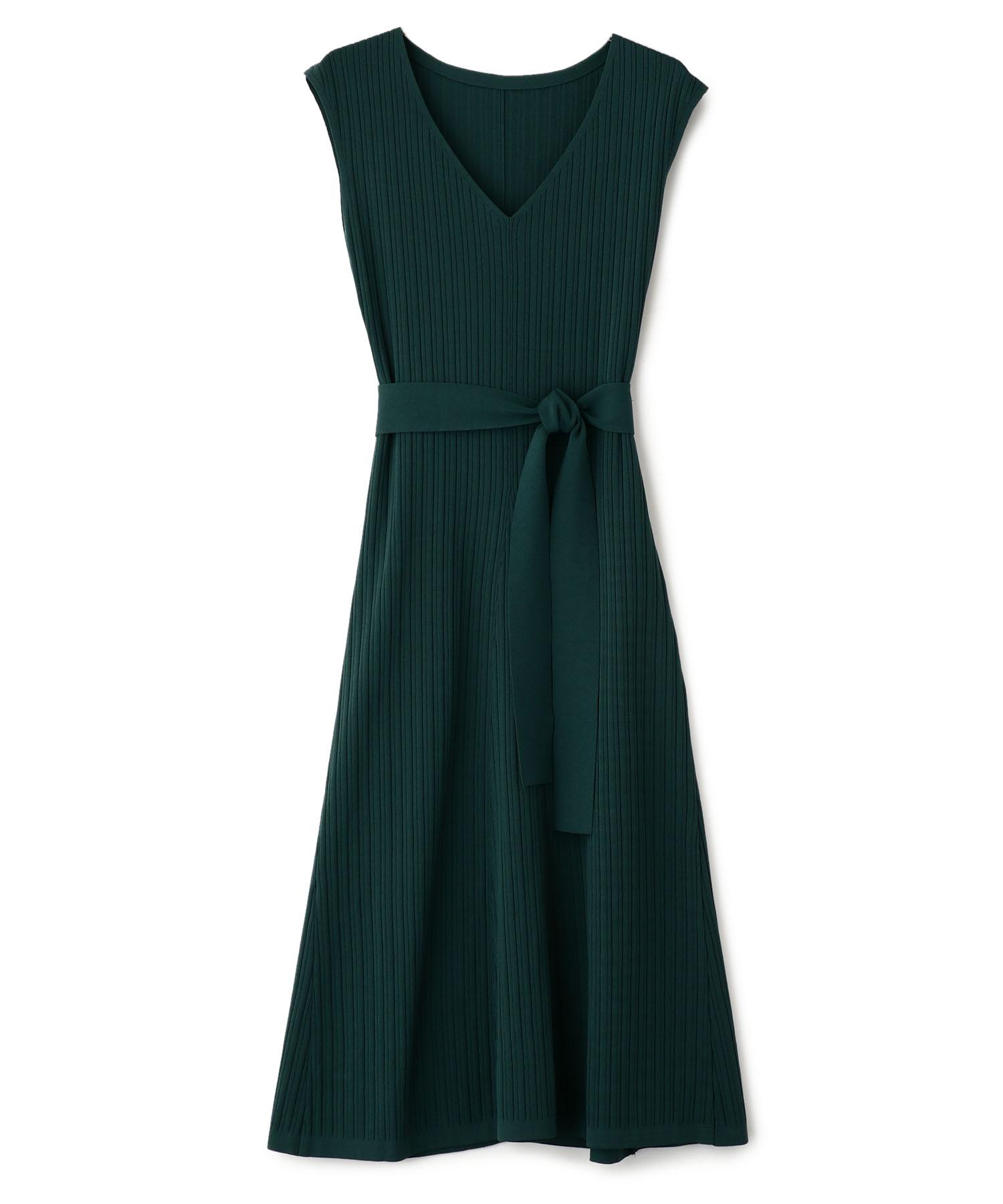 Broad Stitch Lib Flare Knit Dress