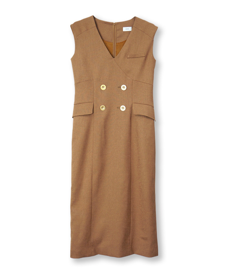 Linen  Lke Gilet Dress