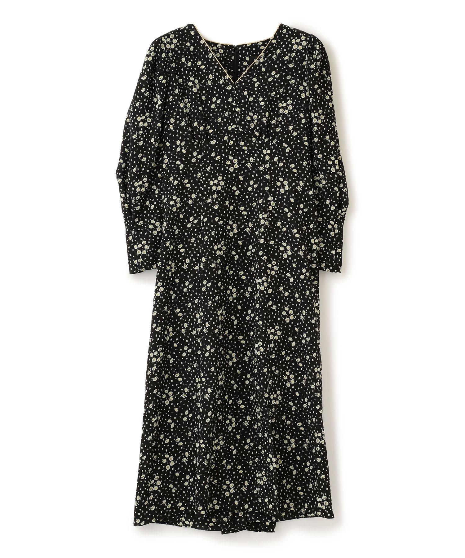 Crepe Flower Print Dress