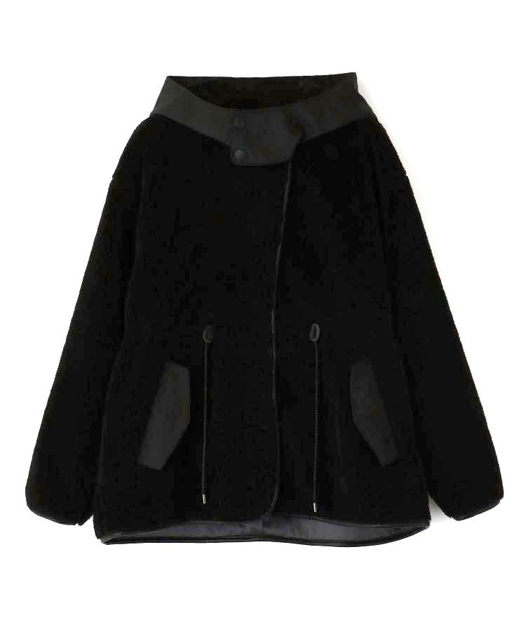 Hoodie Boa Coat