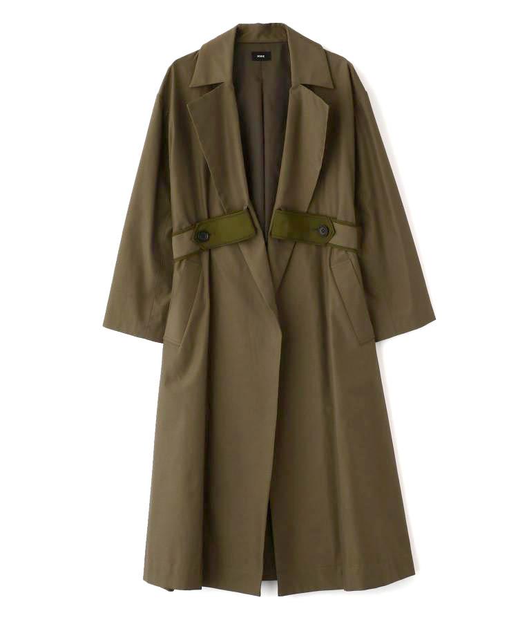 Belt A Line Coat