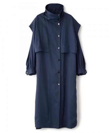 Stand Collar Coat