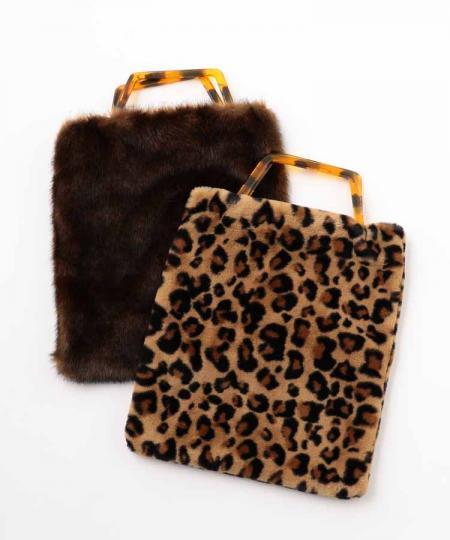 Eco Fur Tote Bag