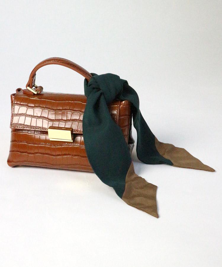 Scarf Micro Mini Bag/casseline