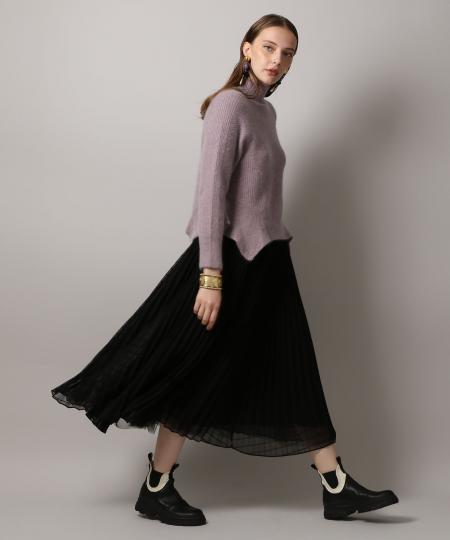 Pleats Volume Skirt
