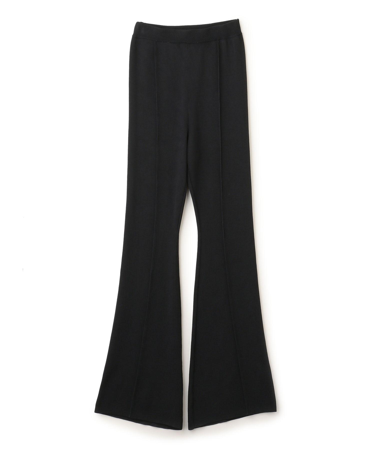 【先行予約10%OFF・送料無料】Bell Bottom Knit Pants