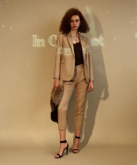【先行予約10%OFF・送料無料】Mohair Mix Tailored Jacket