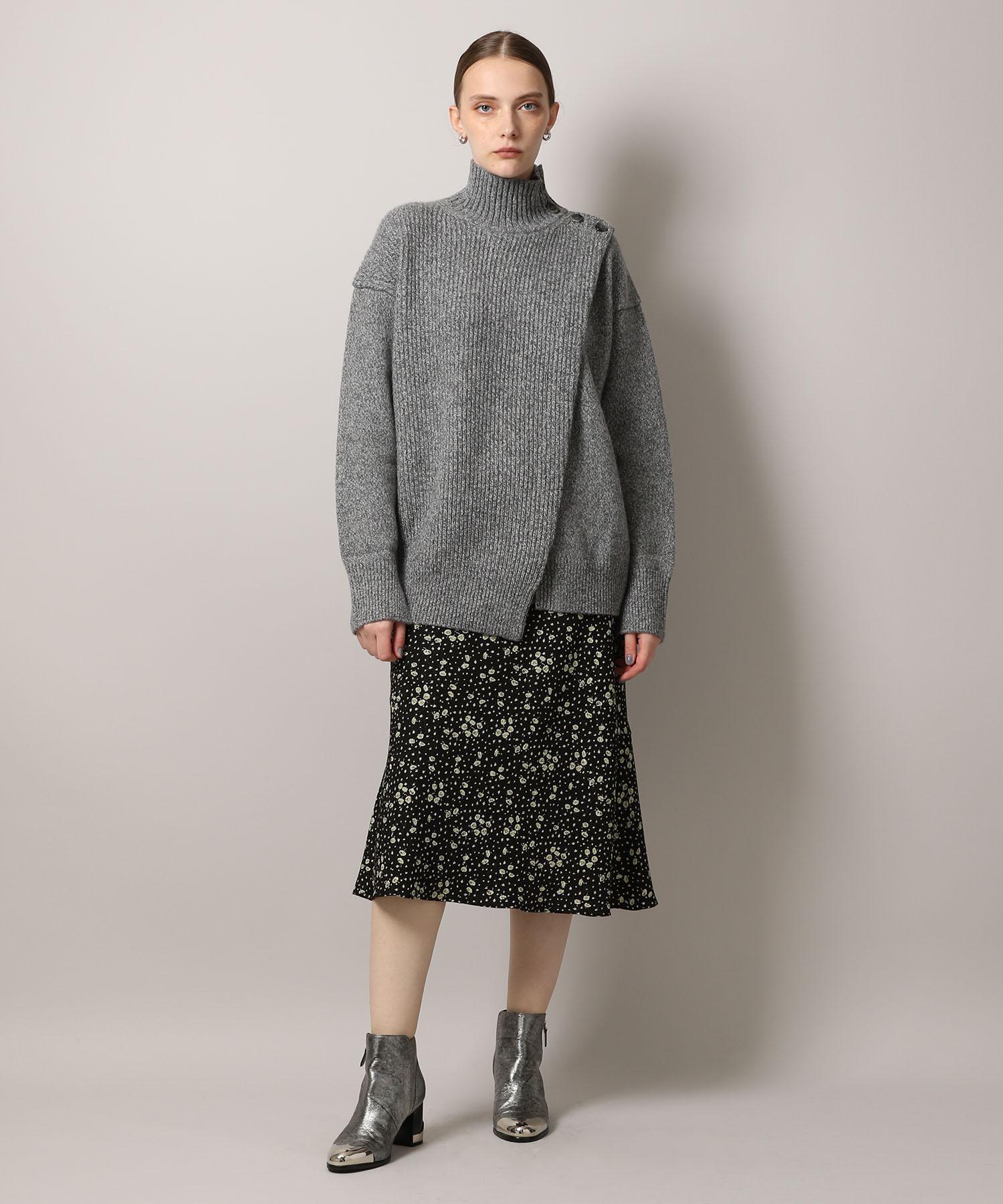 【予約】Highneck Knit Pullover