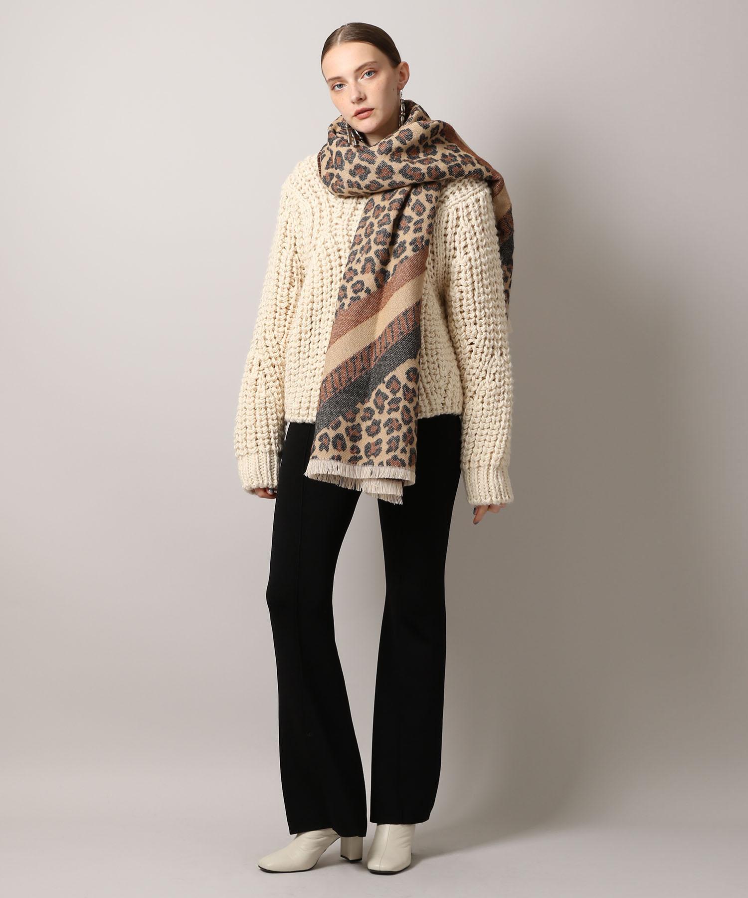 【先行予約10%OFF・送料無料】Chunky Hand Knit Pullover