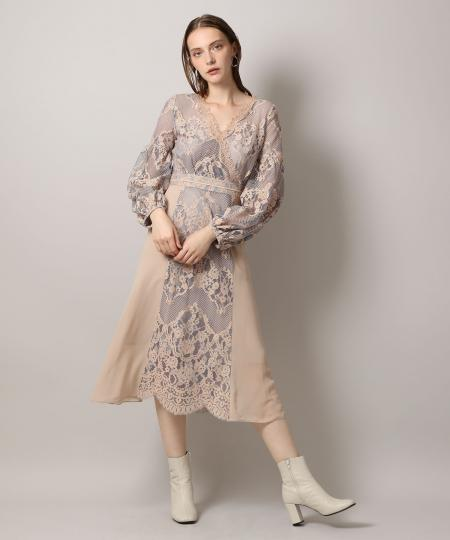Flower Tulle Lace Dress