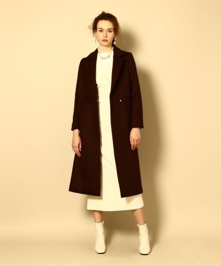【先行予約10%OFF・送料無料】Wool Long Chester Coat