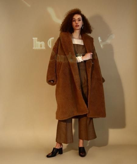 【先行予約10%OFF・送料無料】Eco Fur Coat