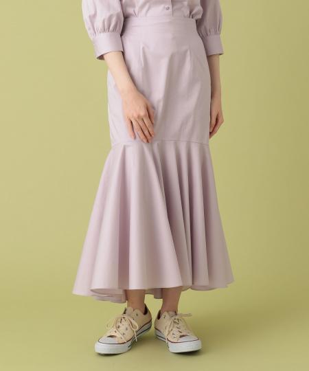タイプライターマーメイドスカート