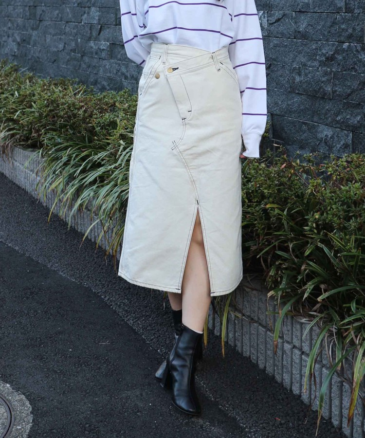 LEE rework painter skirt