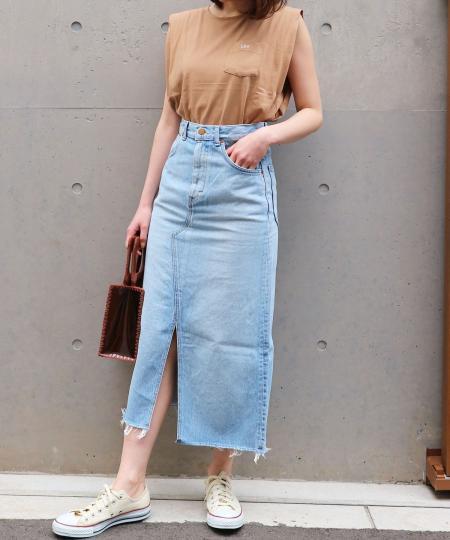 LEE remake middle skirt