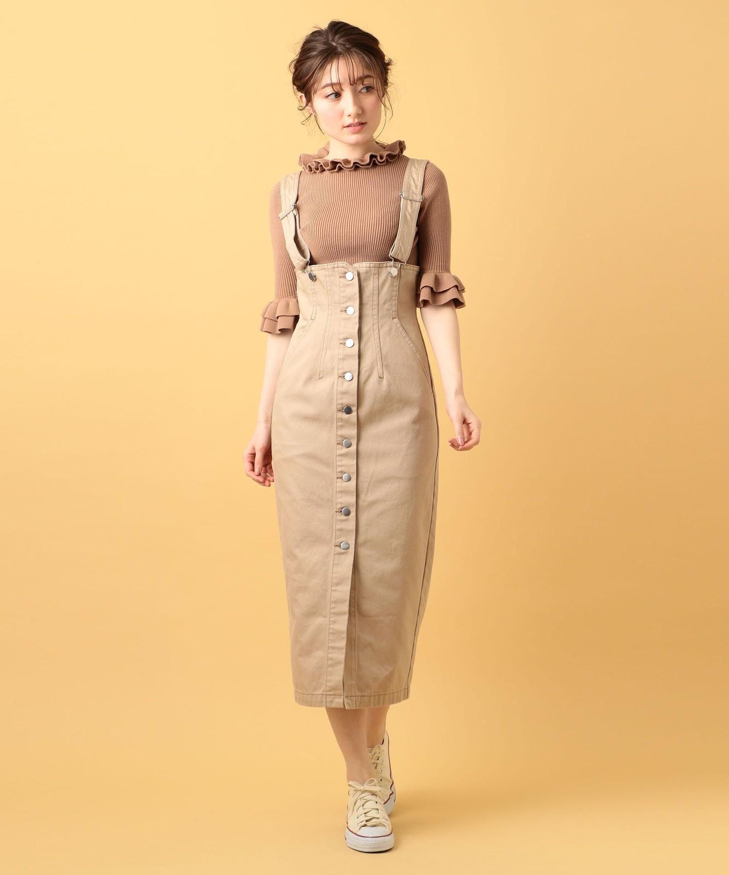 デニムジャンパースカート