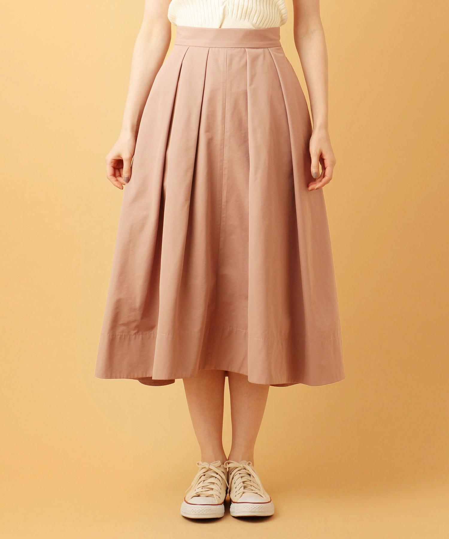 グログランタックボリュームスカート