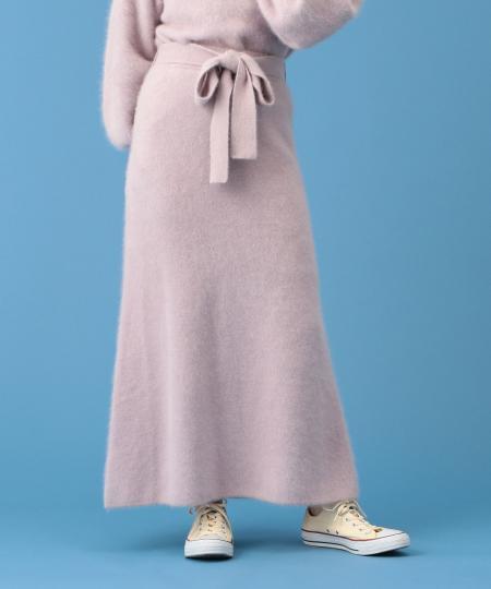 FOXミディニットスカート