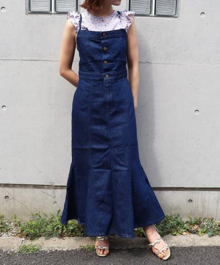 LEE panel salopette skirt
