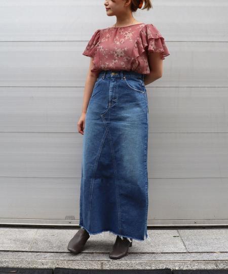 LEE side slit remake skirts