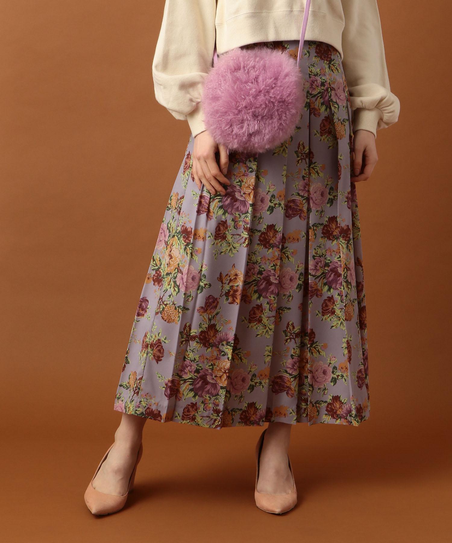 ヴィンテージブーケスカート