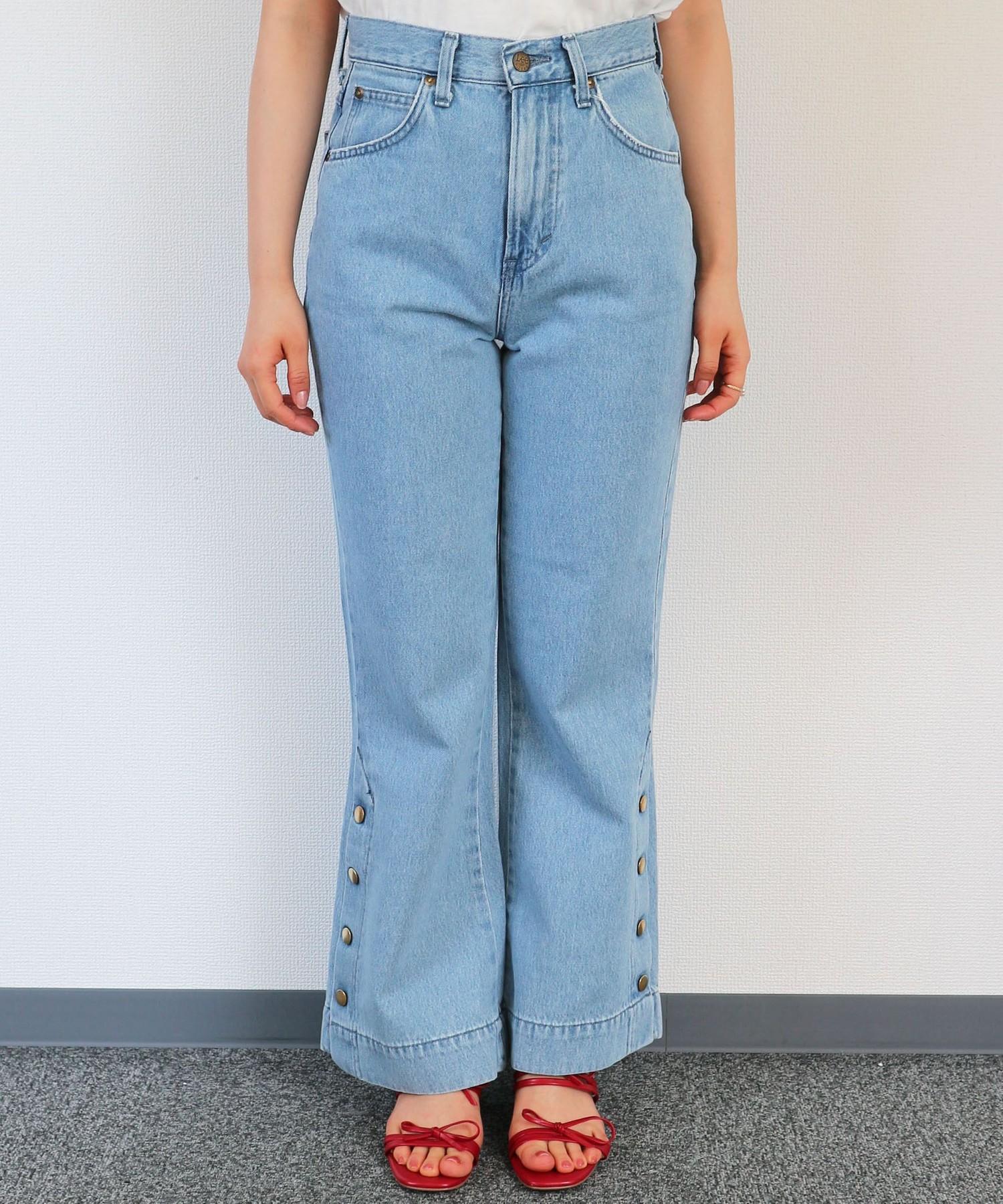 LEE side button pants
