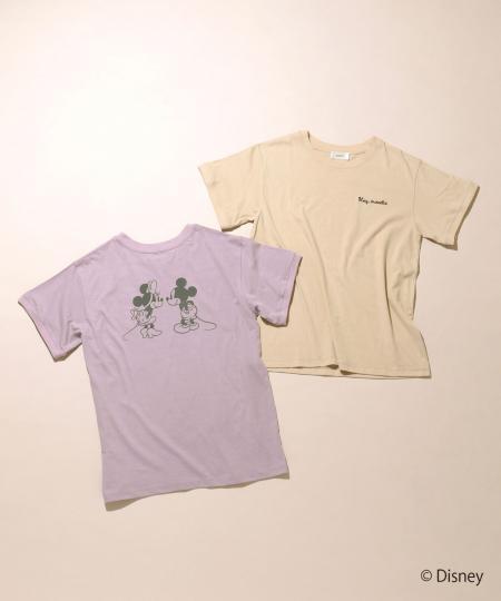 Mickey&Minnie sweetie/Tシャツ