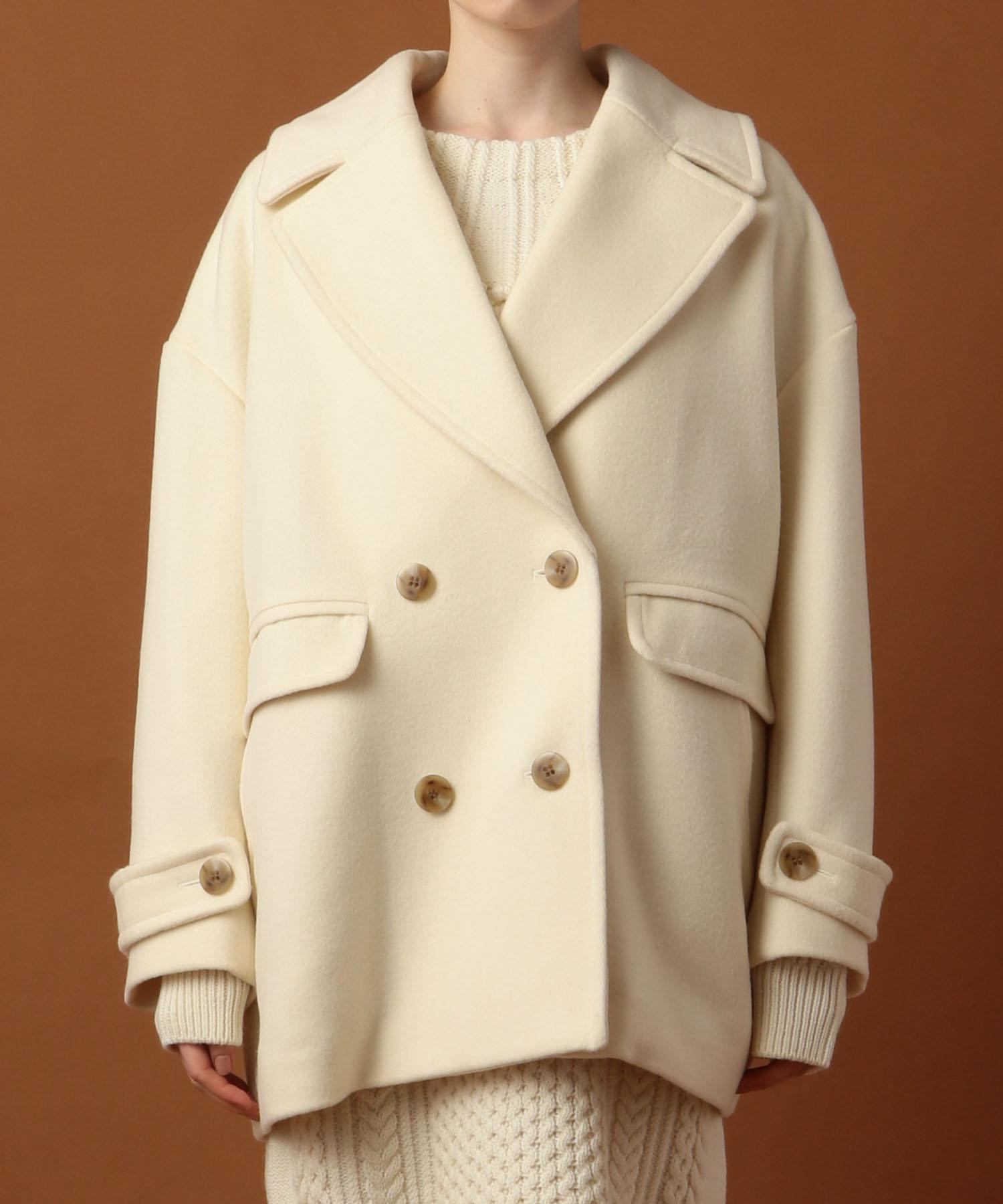 オーバーサイズポケットコート