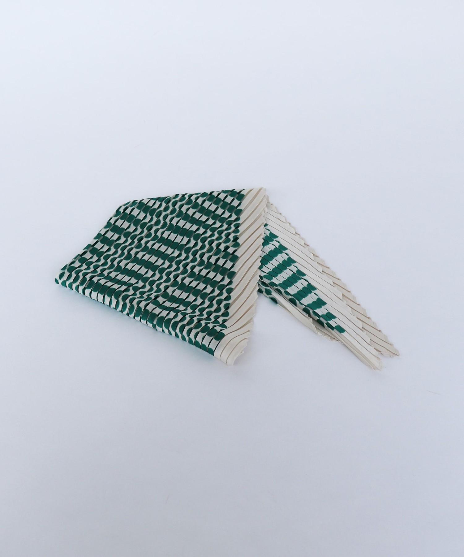 ドットプリーツスカーフ