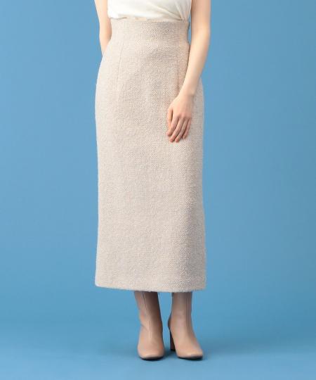 ウールミディタイトスカート