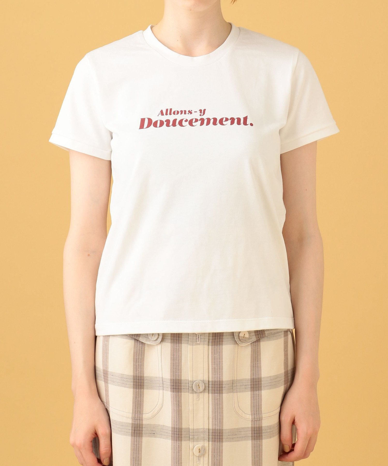 allons-y doucement. Tシャツ【ar 2020年4月号掲載】