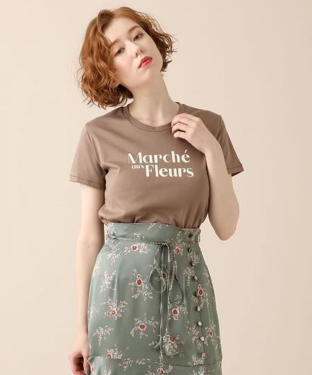 Marche aux fleurs Tシャツ