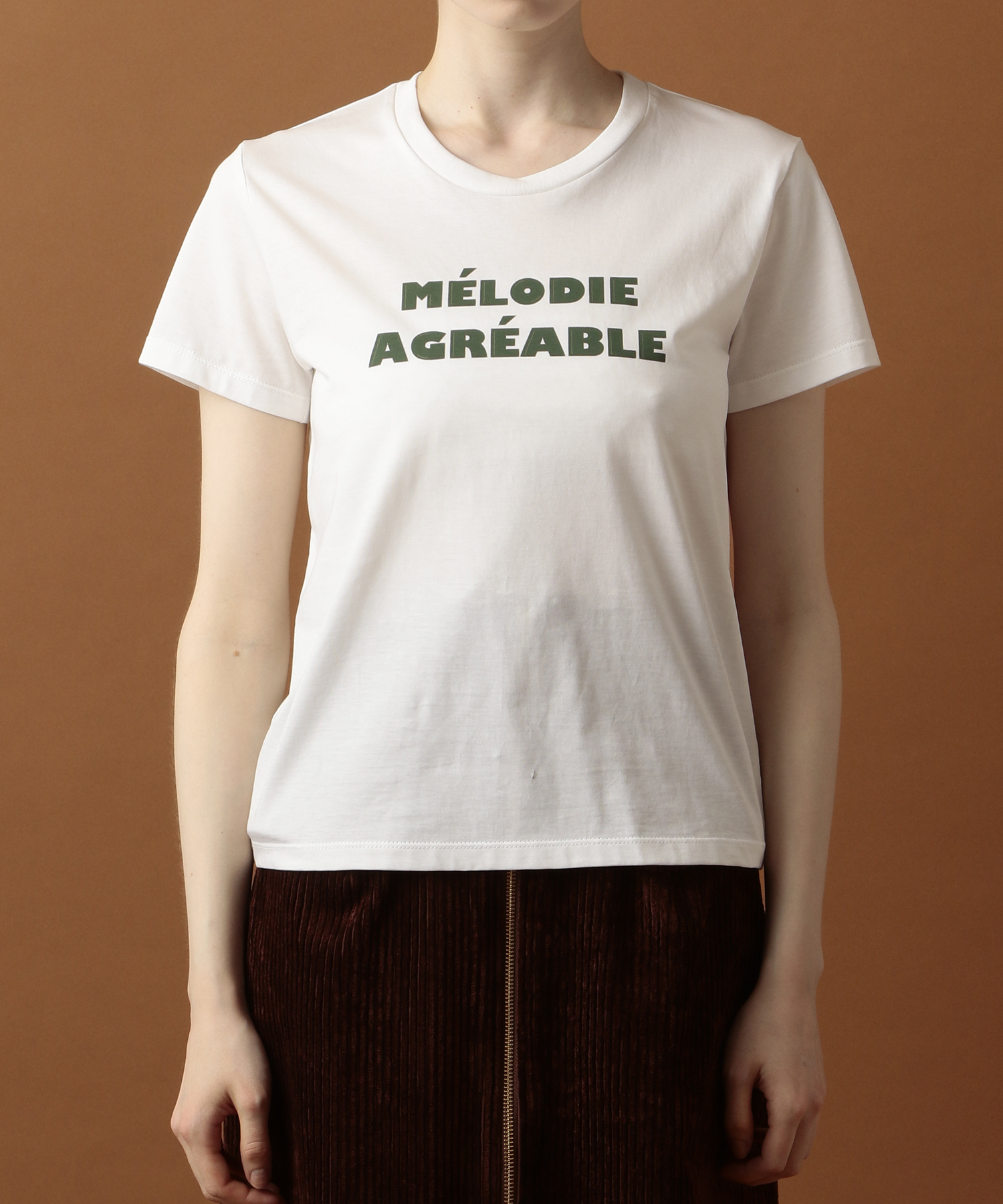 【ar 2019年10月号掲載】MELODIE AGREABLE Tシャツ