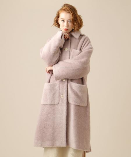 オーバーポケットコート